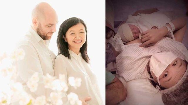 La influencer dio a luz a su tercer hijo, Teo, en abril.
