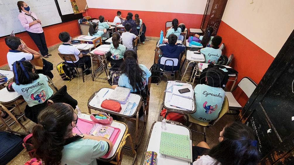 """Farina: """"Las clases presenciales son muy importantes, pero no quita que no incremente el riesgo de contagio"""" (Foto Germán Pomar)."""